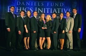 UCCS team wins 2014 Daniels Fund Ethics Consortium Case Competition