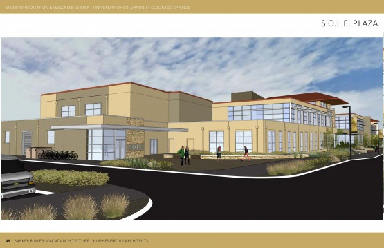 Media advisory: UCCS to begin $16.3 million campus Recreation and Wellness Center expansion
