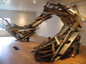 "UCCS Galleries of Contemporary Art to open ""Echafaudages/Temporary Frameworks"""