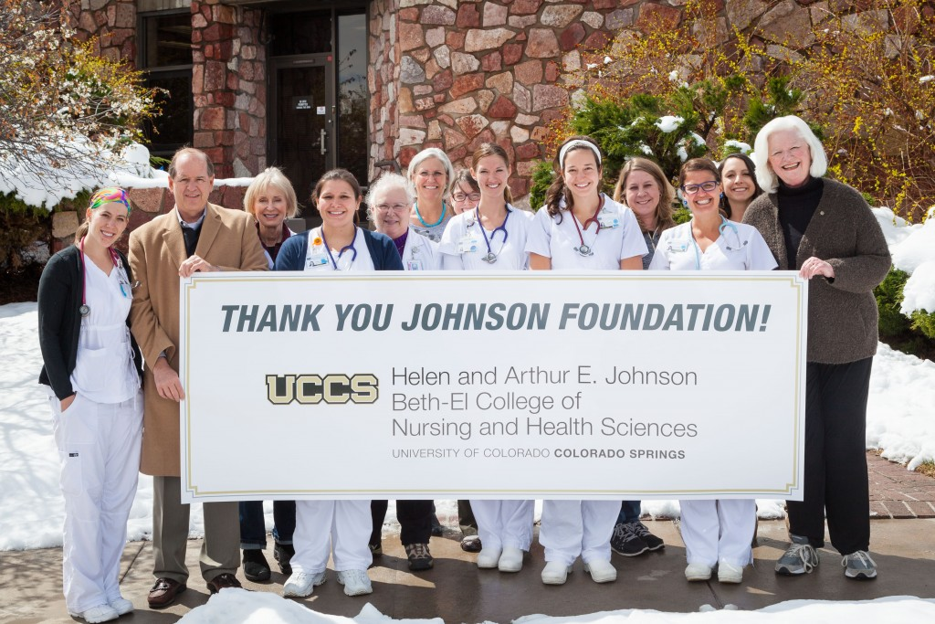 UCCS Beth-El College of Nursing and Health Sciences to be renamed following $8 million grant